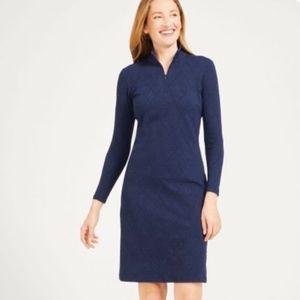 LBN! J. McLaughlin Bedford Knit Jacquard. Dress